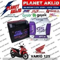Aki Motor Honda Vario 125 Techno FI CW CBS GTZ7S GS Y Accu Kering MF