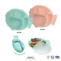 BABY SAFE FISH DIVIDED PLATE