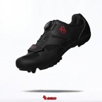 Sepatu sepeda cleat mtb avelio sepatu cleat mtb avelio hitam - 43