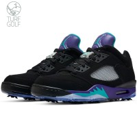 (Limited Edition) Nike Golf Shoes - Air Jordan 5 Low - Grape 2020