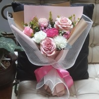 Buket bunga artificial premium 0107/bouquet/wisuda/ultah/anniversary