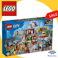 LEGO City 60271 Main Square Adventures TV Series Mainan Anak Builder