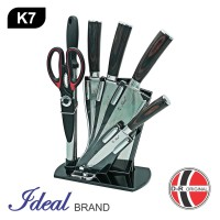 IDEAL K7 Pisau Set Stainless Premium 7 Pcs