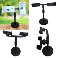 Stand HP Meja Stand Handphone 2 Holder Livestreaming Smule SP002IDL