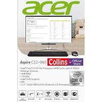 ACER PC ALL IN ONE ASPIRE C22-960 - I3-10110U 4GB 1TB 21.5 FHD WIN10
