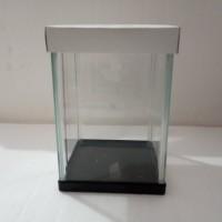 Akuarium Cupang Betta 19 Aquarium Mini Kaca Akrilik Kecil Soliter Unik