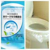 Alas Duduk Kloset WC Toilet Seat Cover Travel Disposable CLOSET