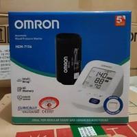 omron HEM-7156 tensimeter digital alat ukur tekanan darah & jantung