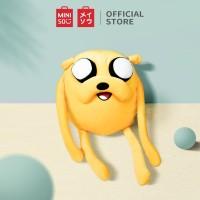 MINISO Boneka Mainan Bantal Karakter Adventure Time Lucu Toy XL - Jake