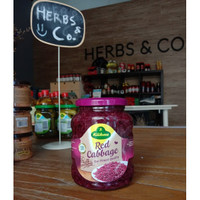 KUHNE Pickled Red Cabbage / Acar Kol / Kubis Merah 370ml