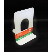 PEMBATAS BUKU BOOK HOLDER BESI 7,5 INCH MAGAZINE HOLDER BOOKEND BESI