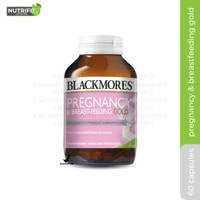 Blackmores Pregnancy and Breastfeeding Gold Kalbe BPOM - 60 Caps