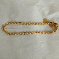 gelang nori 5 gram emas muda