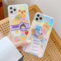 FOR SAMSUNG A20, A30, A50, A50S - CUTE FOOD CASING