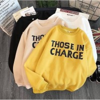 Those In Charge sweater Fashion Wanita Terbaru & Terlaris
