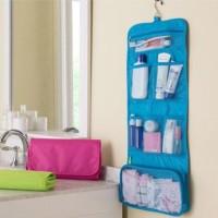 #109 New Travel Toiletries Bag tas traveling - Fuchsia