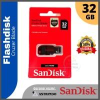 Sandisk Cruzer Blade Flashdisk 32 GB ORIGINAL Garansi Resmi Supermurah