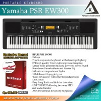 Keyboard Yamaha PSR EW300 / PSR-EW300 / EW 300 Garansi Resmi