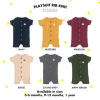 Playsuit Rib Knit Mooi