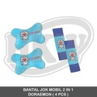 Bantal Jok Mobil 2 In 1 Doraemon