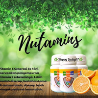 VITAMIN NUTAMINS PUREWAYS C500 (ISI : 30 TABLET/BOTOL)