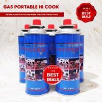 [KURIR INSTAN BANDUNG] Tabung Gas Portable Hi Cook ASLI ORI - PENUH