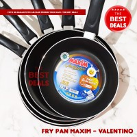 Panci Fry Pan Maxim Valentino ukuran 18 20 22 24 26 - 12 cm