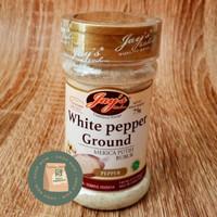 Jays White Pepper Ground 75 Gram / Merica Putih Bubuk