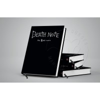 Notebook, Anime, Hardcover (custom desain) - polos, Book Papper