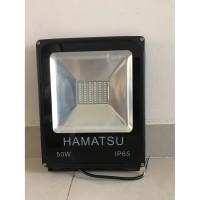 Lampu tembak LED Kap sorot outdoor 50w 50 watt kuning warm white 50 w