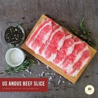 USA Beef Shortplate / Daging Slice / Yoshinoya - 500gr