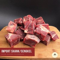 Daging Sengkel kembang Sapi / Shank Impor - 500gr