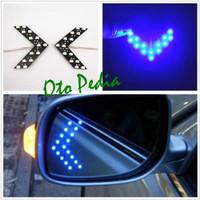 Lampu Sein LED Spion Mobil Biru