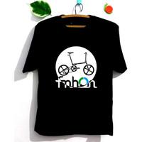 Kaos Sepeda Lipat Lengan Pendek / Panjang - Pria / Wanita Katun 30S