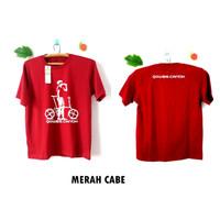 Kaos Sepeda Lipat Wanita - Katun Combed 30S - Lengan Pendek / Panjang