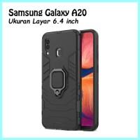 Hard Case Kickstand Magnetic I Ring Samsung Galaxy A20