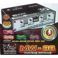 Ampli Walet Piro MW 88/ Amplifier/ Tape/ tweeter/ speaker/ audio