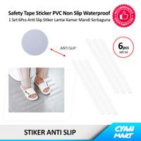Sticker Lantai Kamar Mandi Stiker Pengaman Bebas Licin Anti Slip Tape