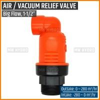 """Air Release Valve / Vacuum Relief Valve, Big Flow - 1"""""""