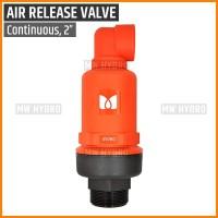 """Air Release Valve / Vacuum Relief Valve, Dual Acting Continuous - 2"""""""