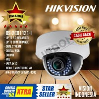 NEW IP CAMERA HIKVISION 1080P DS-2CD1121-I / Support POE + WDR
