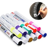 Spidol Ban Mobil Motor Toyo Paint Marker Pen Original Oil Based Marker - Putih