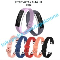 KW2 Strap Fitbit Alta / HR Band Silikon Tali Jam Watch Silicone