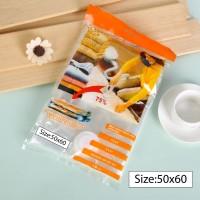 Vacuum Bag 50x60 Plastik Vakum Kantong Baju Storage Bag Laundry Bag