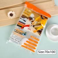 Vacuum Bag 70x100 Plastik Vakum Kantong Baju Storage Kantong Selimut