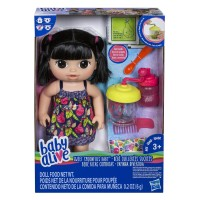 Baby Alive Sweet Spoonfuls Black Hair Baby Doll