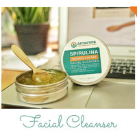 Spirulina Natural Creamy Facial Cleanser