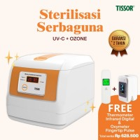 Tissor T1919 Banknote Disinfectant Sterilisasi Uang UV Sterilizer Box - Putih