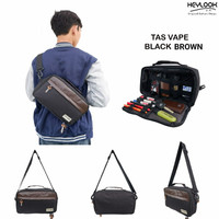 TAS VAPE PRIA SLING BAG TAS SELEMPANG WAIST BAG