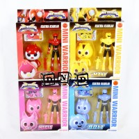 Mainan Anak Miniforce X Ranger Sammy Volt Lucy Max Mini Force Figure